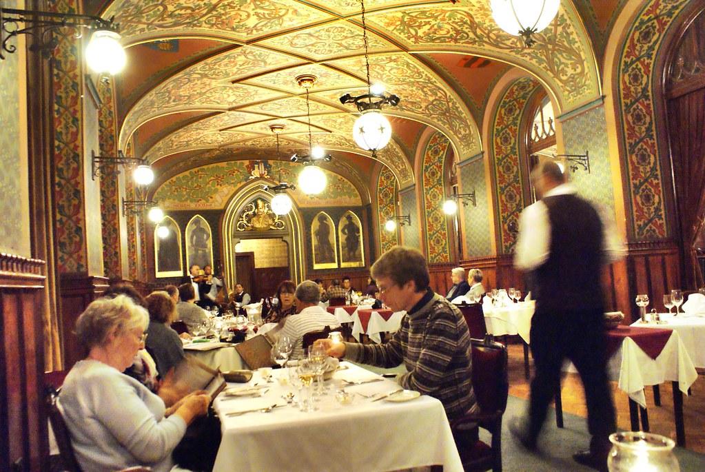 Restaurant Karpatia à Budapest.