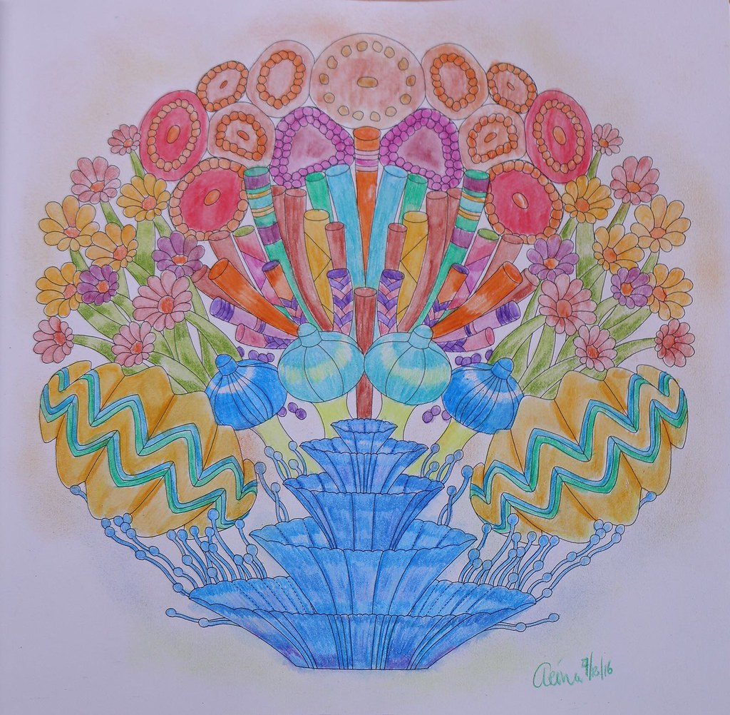 Millie Marotta Coral