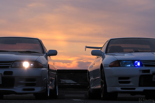 R32 GTS-t & GT-R at Munakata | by tomosang R32m