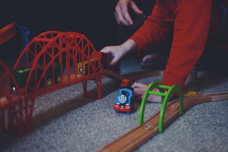 trains bridge home life project