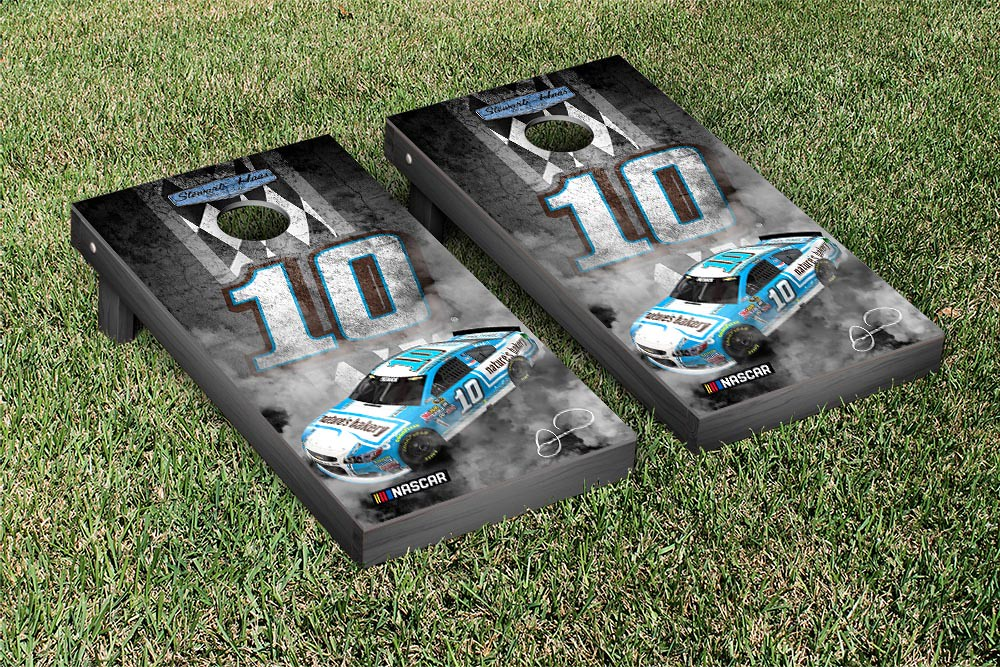 DANICA PATRICK #10 CORNHOLE GAME SET PITROW VERSION