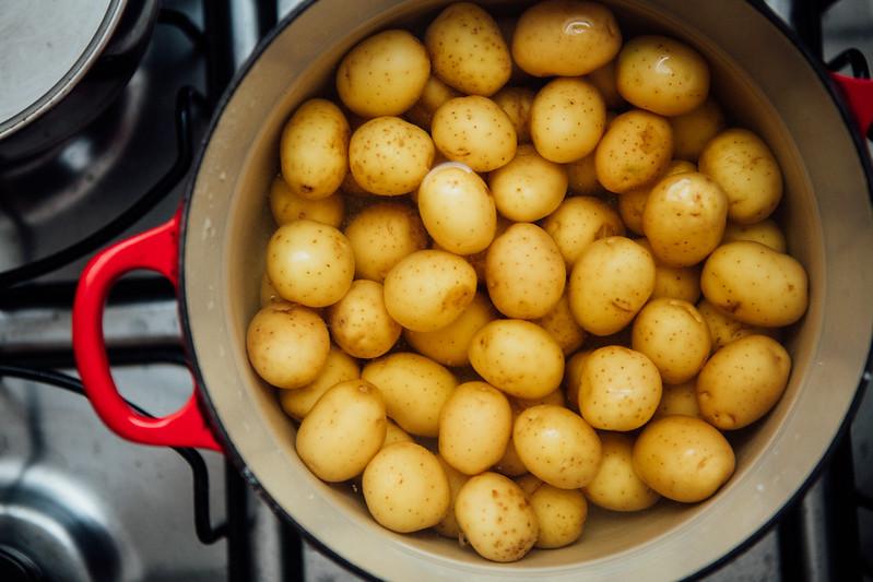 Batatas no Vinho Branco