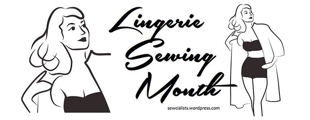 Lingerie Sewing Month Logo