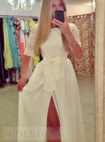 http://www.tidestore.com/product/Tidestore-Style-Lace-Top-Bowknot-Long-Dress-11298421.html