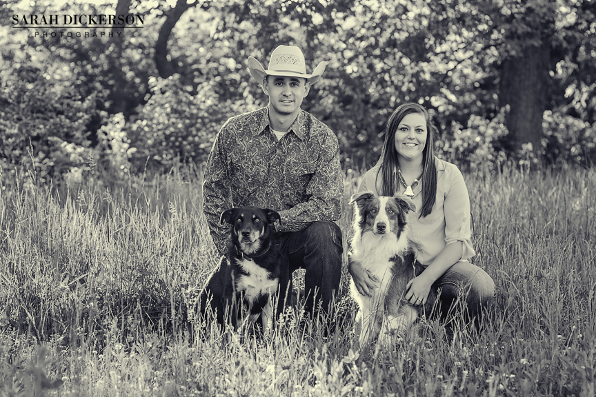 Missouri country engagement session