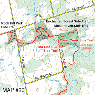 Bruce Trail Map 20
