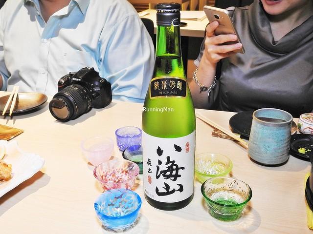 Sake Hakkaisan Junmai Ginjo