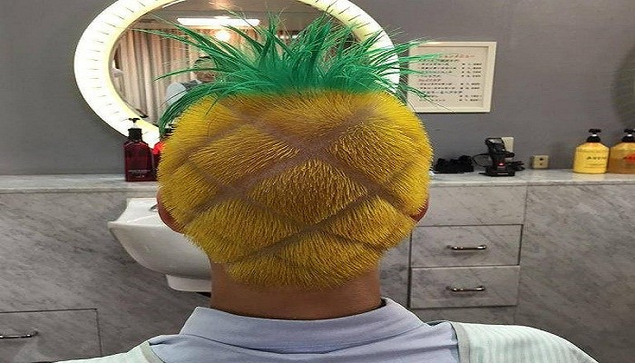 Pineapple Haircut Most Weird Haircuts Most Weird