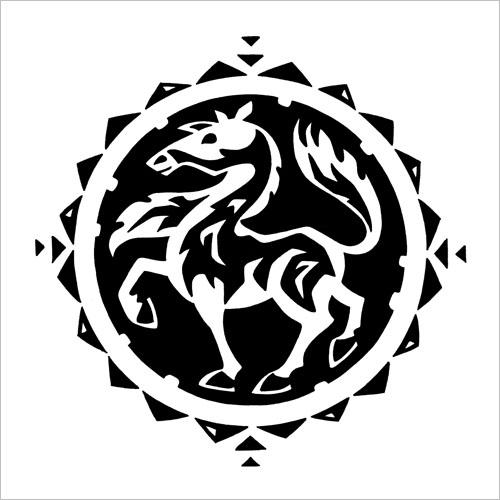 Chinese Zodiac: Horse / Китайский зодиак: лошадь