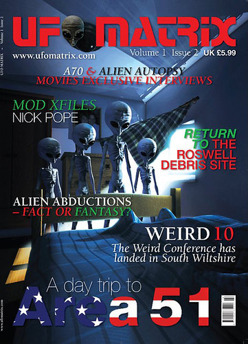 UFO Matrix Magazine Issue 2 | by Green Earth Publishing