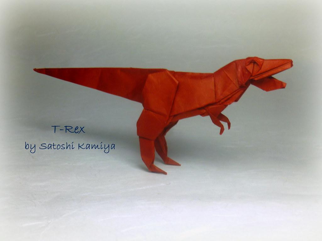 Tyrannosaurus rex t rex by satoshi kamiya after a long t flickr tyrannosaurus rex t rex by satoshi kamiya by thomas krapf origami jeuxipadfo Choice Image