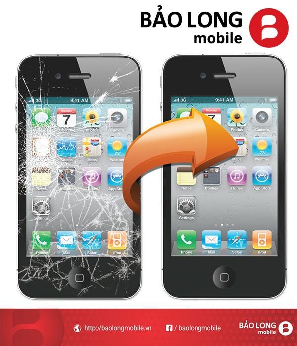 Giá thay màn hình iphone 4 tầm bao nhiêu hợp lý?