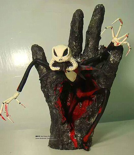 Rubber Tubing Jack Skellington by 鍾凱翔 Kai-Xiang Xhong