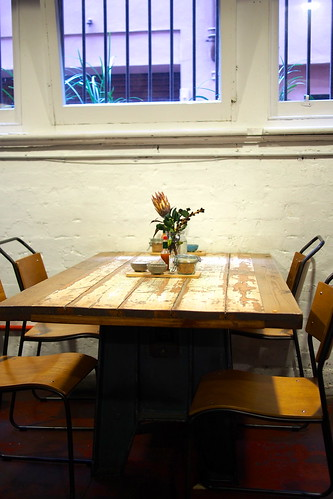 Flat White Coffee and Brunch in Melbourne: Manchester Press (Rankins Lane)