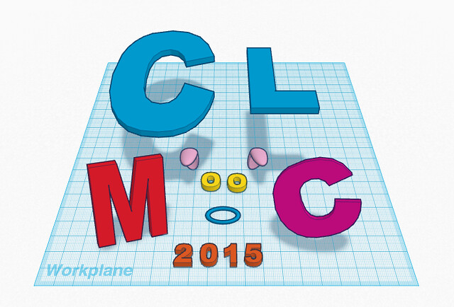 CLMOOC with TinkerCAD