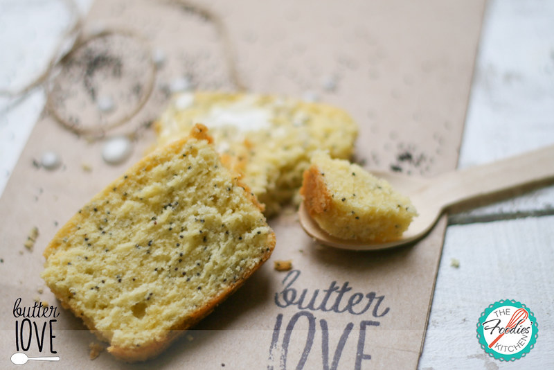 Guest Foodies: Butter Love & Lemon Poppy Seed Pound Cake
