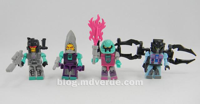 Transformers Piranacon Kre-O - modo individual
