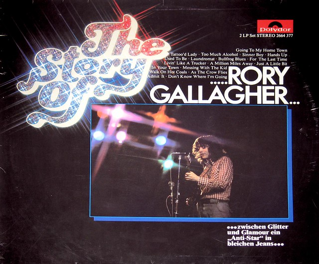 """Rory Gallagher - The Story of Rory Gallagher 12"""" Vinyl LP"""