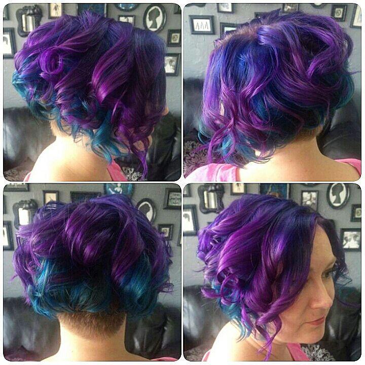 Violet And Blue Layered Color Melt Violet And Blue Layered Flickr