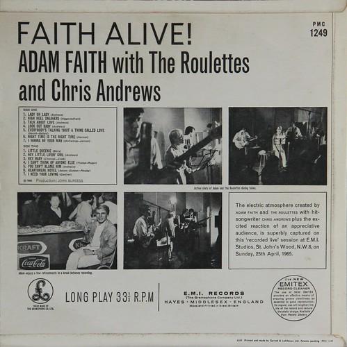 Faith Alive - Adam Faith Rear  Born Terence Nelhams-Wrig  Flickr-4411