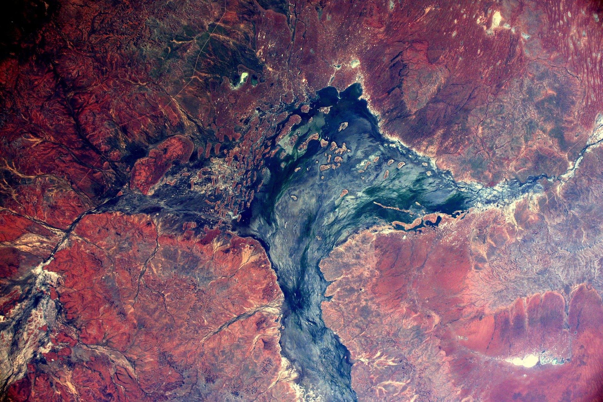 French Astronaut Thomas Pesquet - Australian Outback