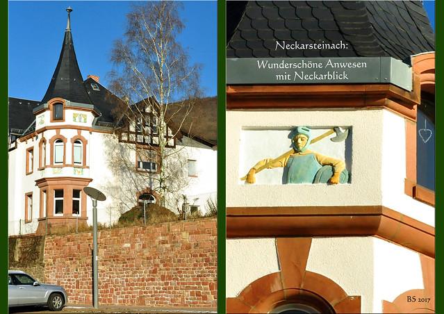6. Januar 2017 - Vierburgenstadt Neckarsteinach ... Hessen ... Neckar ... Steinach ... Nibelungengarten ... Eichendorffmuseum ... Fachwerkhäuser ... Leier, Harfe, Saitenspiel ... Kirchen ... Fotos und Collagen: Brigitte Stolle, Mannheim