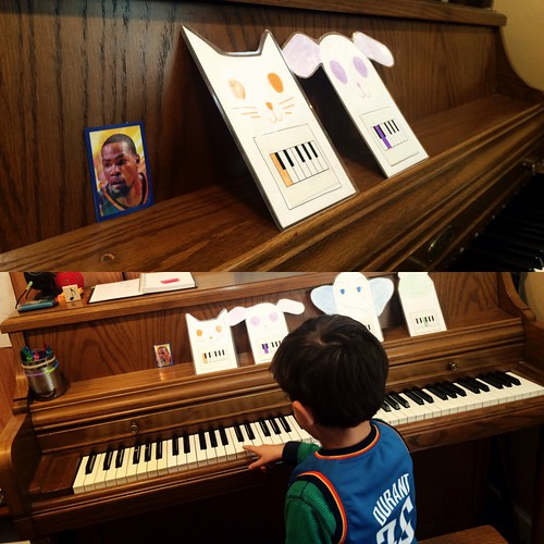 Kevin Durant Piano Lessons (Jan 14 2016)