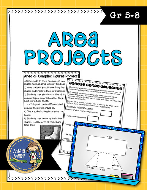 Teaching Area, Area of Complex Figures, Free Area Activities