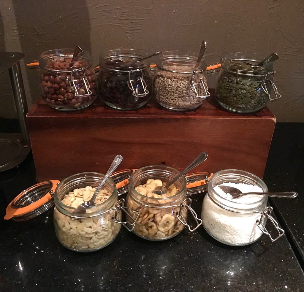 Breakfast at Worsley Park Marriott Hotel toppings