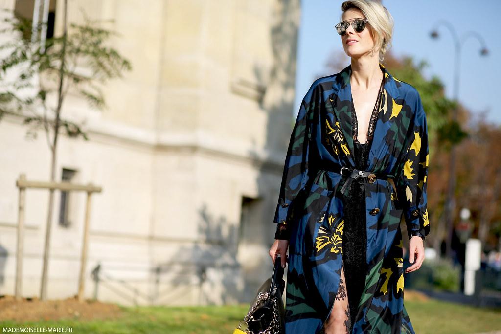 Sofie Valkiers at Paris fashion week-2