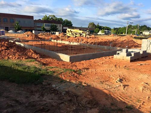 Uptown Farmers Market Construction