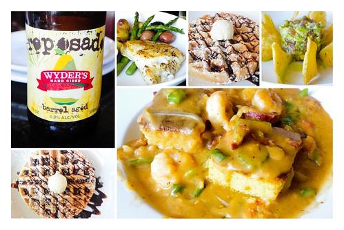 Glenn's Diner, Collage