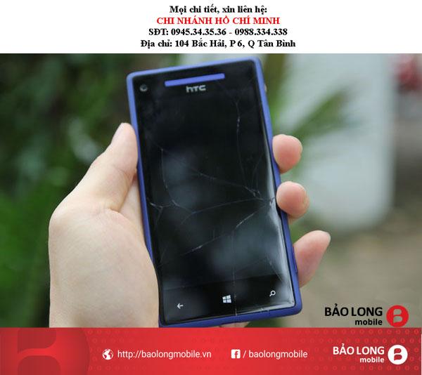Màn hình HTC 8X xảy ra những hư hại không đáng có và các phương pháp giải quyết