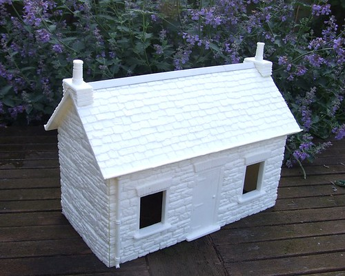 Unpainted cottage