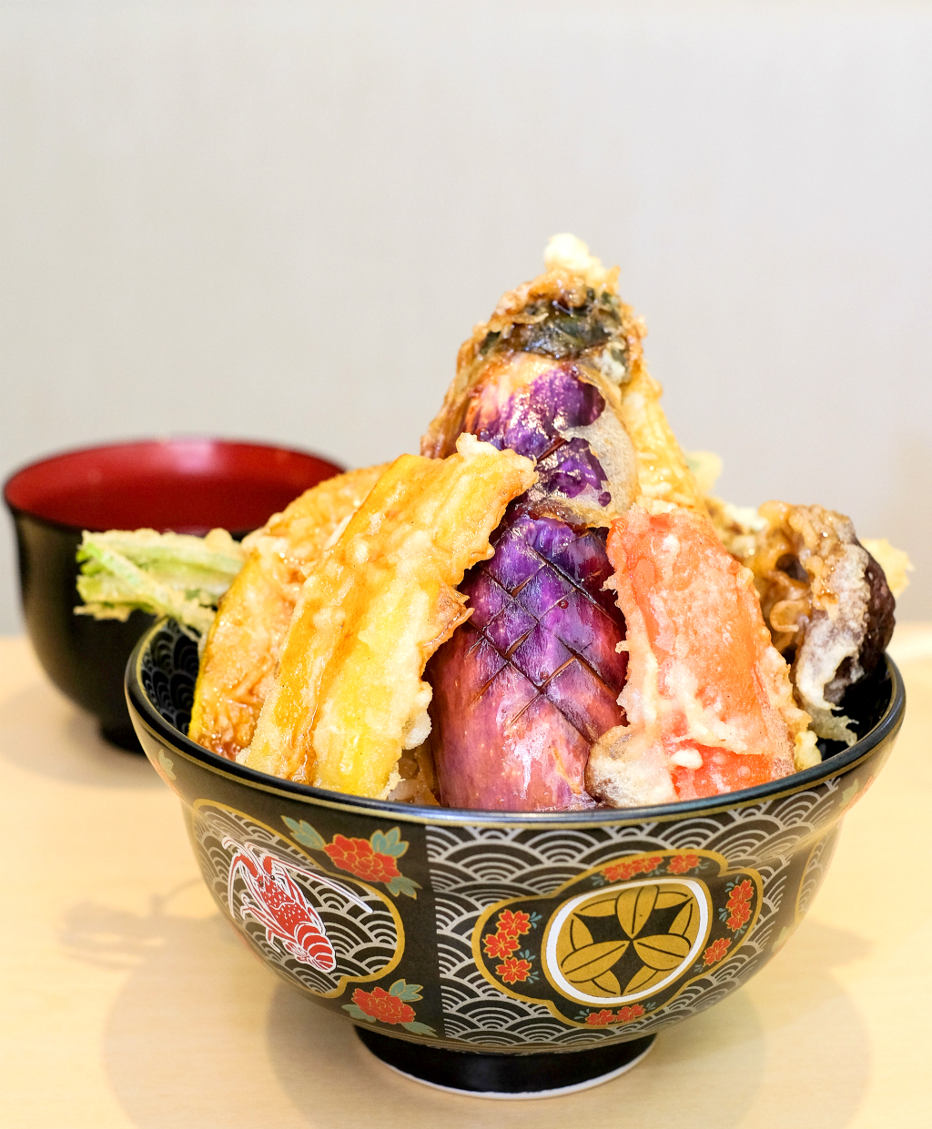 Ginza Tendon Itsuki's Vegetable Tempura Rice Bowl