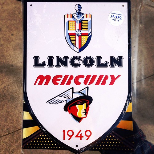 """Lincoln Mercury - """"Carteles clásicos del motor"""" no. 11"""