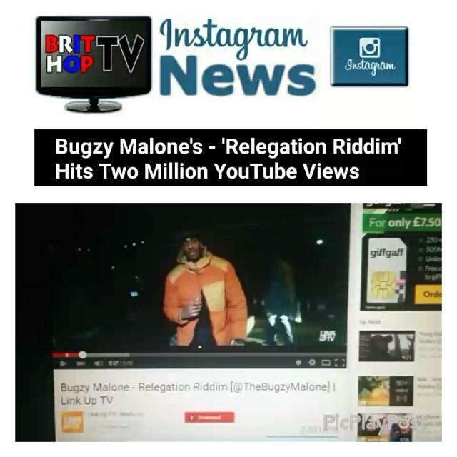 BHTVInstaNews: Bugzy Malone's (@TheBugzyMalone) - 'Relega
