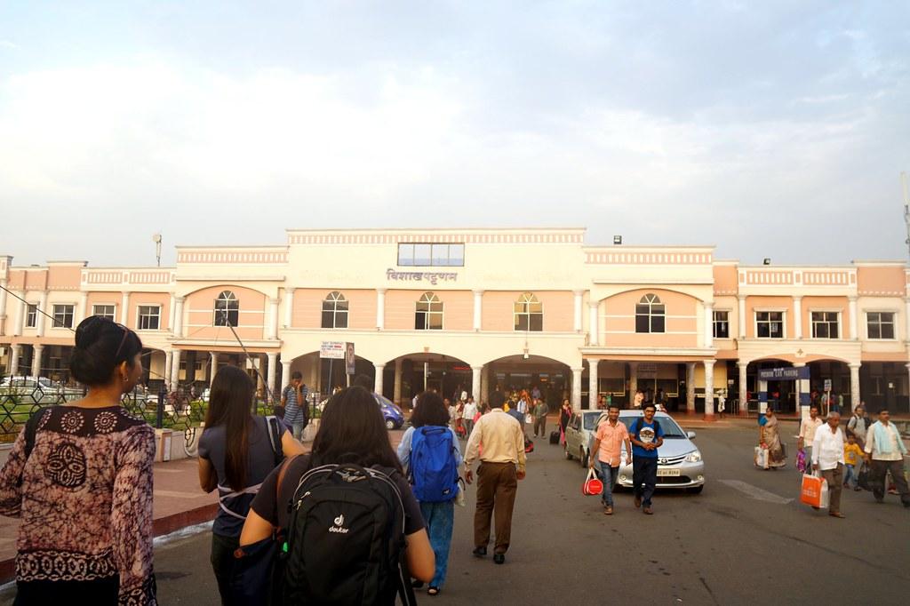 Araku Valley train Journey - from visakhapatnam