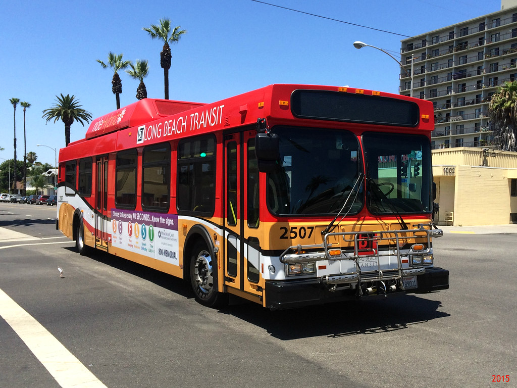 ... Long Beach Transit New Flyer GE40LF #2507 | by lucian400