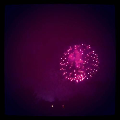 Last night's Liberty Township fireworks...