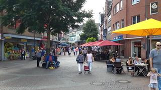 winkelstraat in Kleve