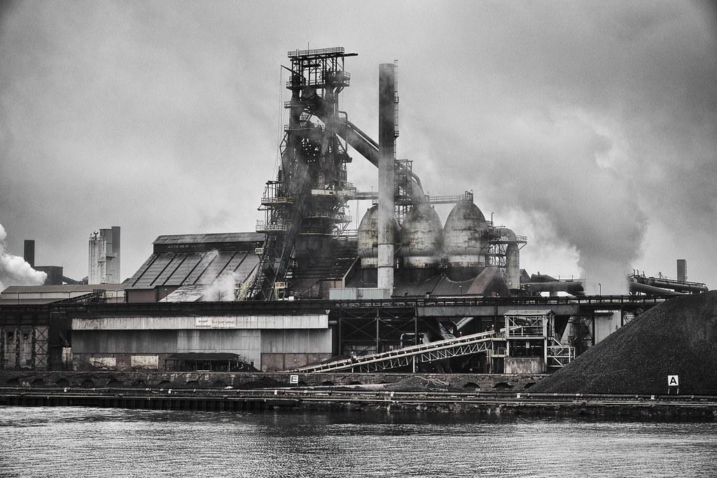 Number 7 Blast Furnace : Number six blast furnace essar steel algoma