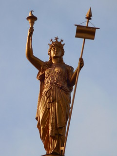Bee County Courthouse Lady Justice