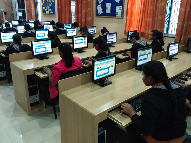 Inter House Typing Competition