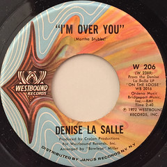 DENISE LA SALLE:A MAN SIZE JOB(LABEL SIDE-B)