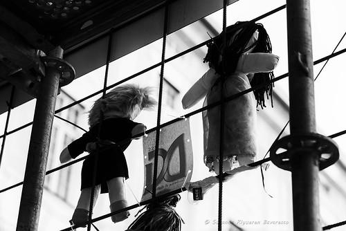 Il muro delle bambole
