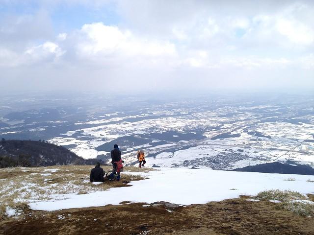 入道ヶ岳 山頂より濃尾平野