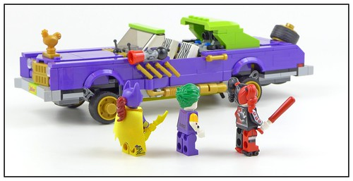 The LEGO Batman Movie 70906 The Joker Notorious Lowrider figures03