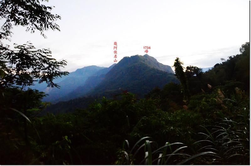 清晨的幾阿佐名山
