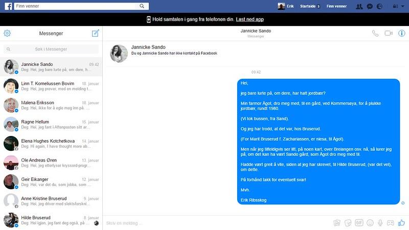 sando facebook hm